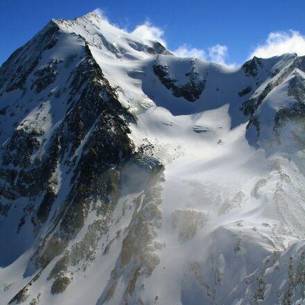 mountain, snow, summit, Sony DSC-W17
