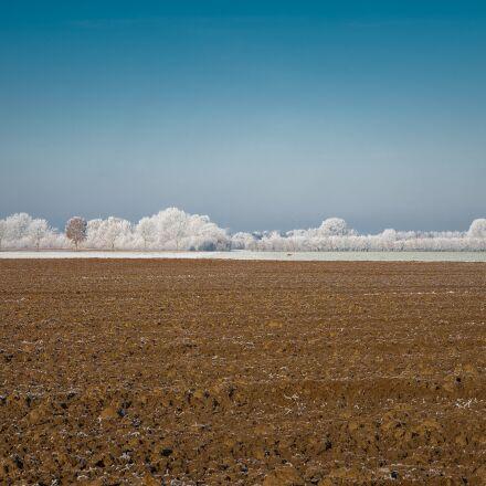 arable, field, winter, Sony ILCE-7SM2