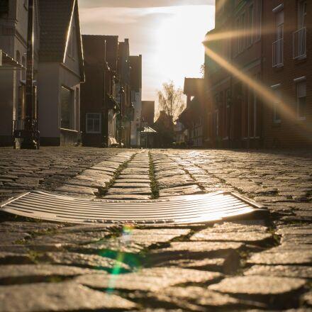 alley, gulli, drain, Sony ILCE-7SM2