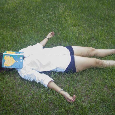 relax, woman, fu, Canon EOS KISS X4