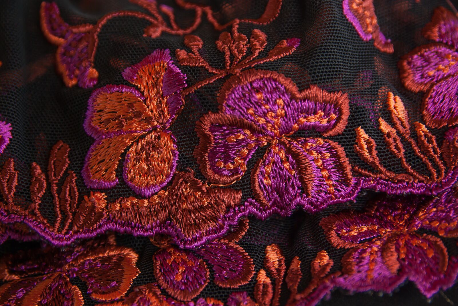 """Pentax K10D sample photo. """"Lace, embroidery, couture"""" photography"""