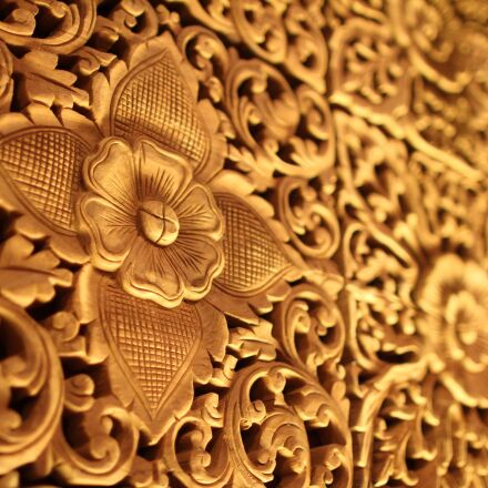 abstract, gold, floral, Canon EOS 60D