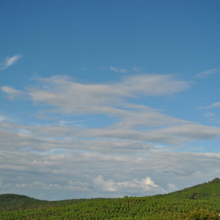 anatolia, blue, sky, clear, Nikon D3000