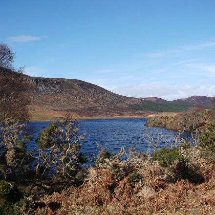 scotland, loch brora, hole, Fujifilm FinePix JV200