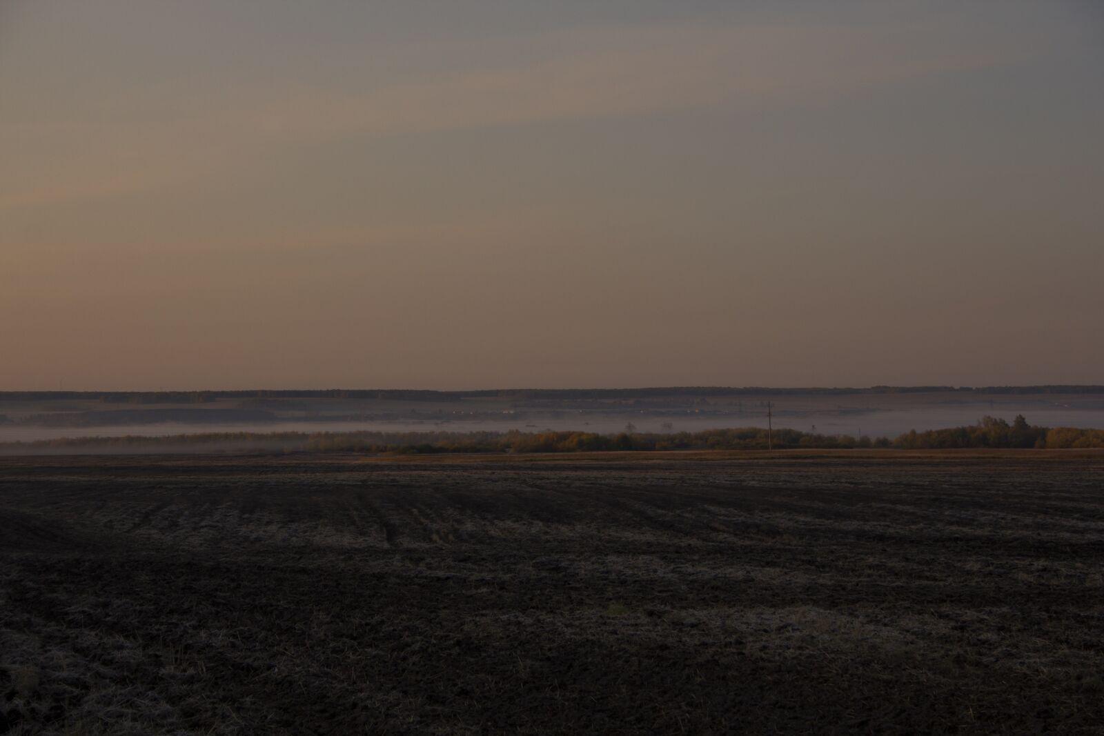 """Canon EOS 60D sample photo. """"Field, fog, haze"""" photography"""