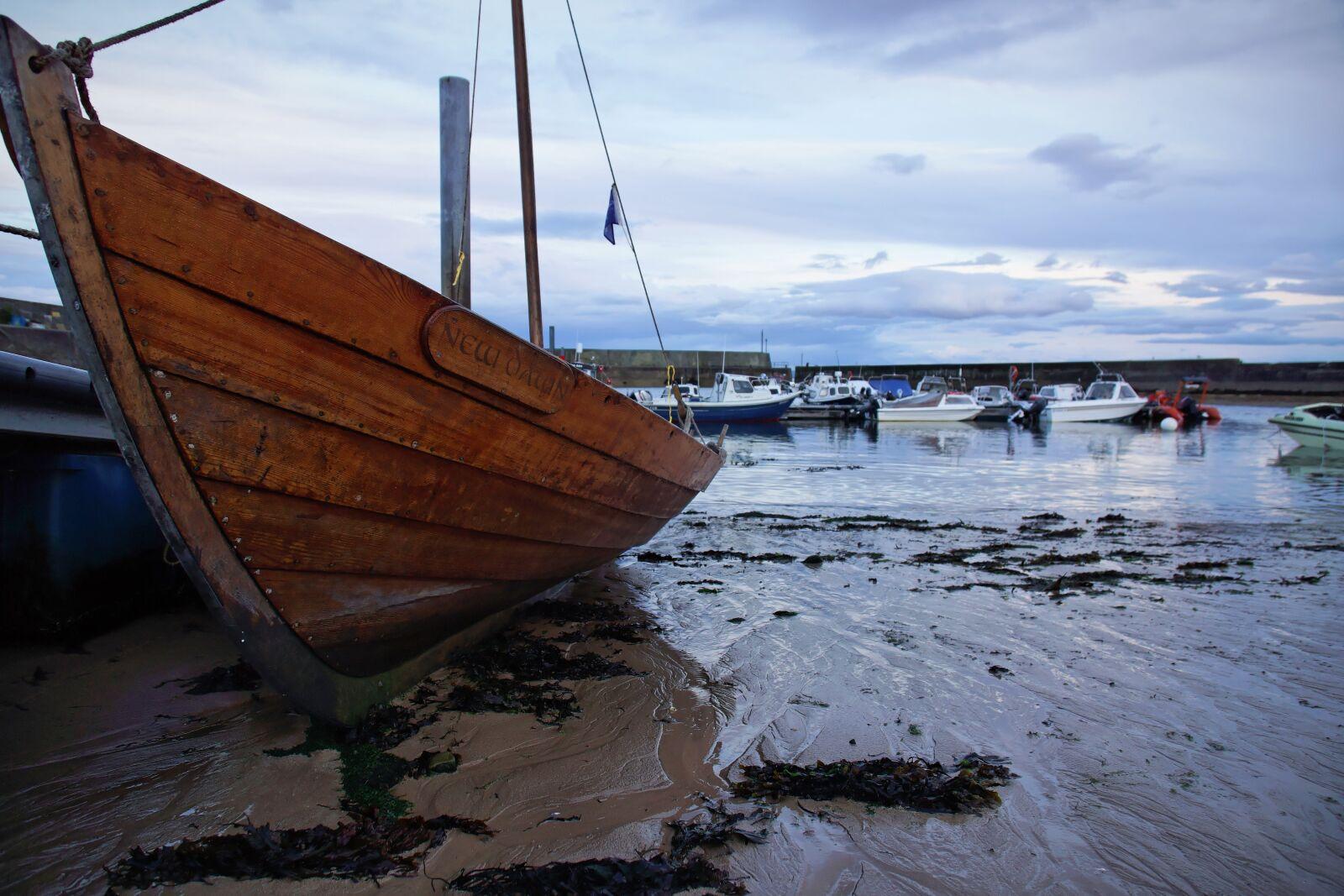 "Sony Alpha NEX-7 sample photo. ""Waters, sea, boat"" photography"