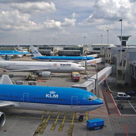 airport, terminal, schiphol, Fujifilm FinePix A345