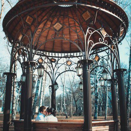 architecture, building, couple, Canon EOS 550D