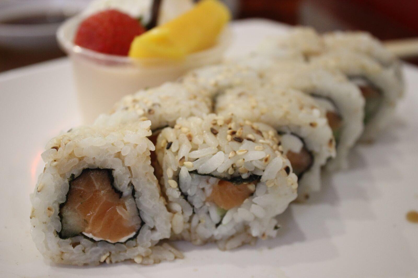 "Canon EOS 600D (Rebel EOS T3i / EOS Kiss X5) sample photo. ""Sushi, comida, gelatina"" photography"