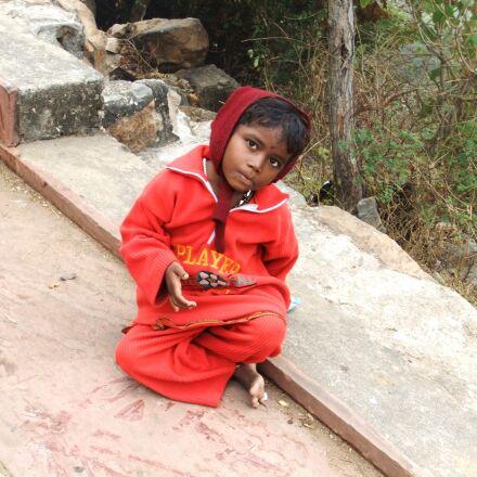 kids, red, india, Fujifilm FinePix F70EXR