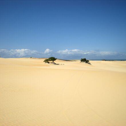 sand dunes, sky, sand, Nikon COOLPIX S210