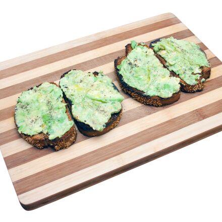 bread, toast, avocado, Canon EOS 40D