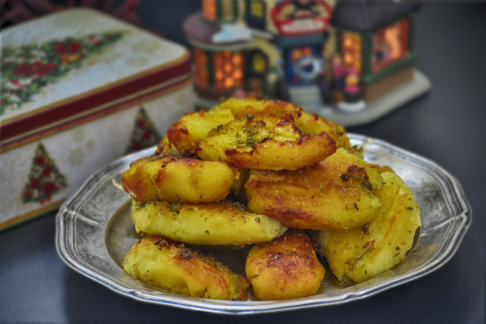 "Nikon D3100 sample photo. ""Food, photography, plated, potatoes"" photography"