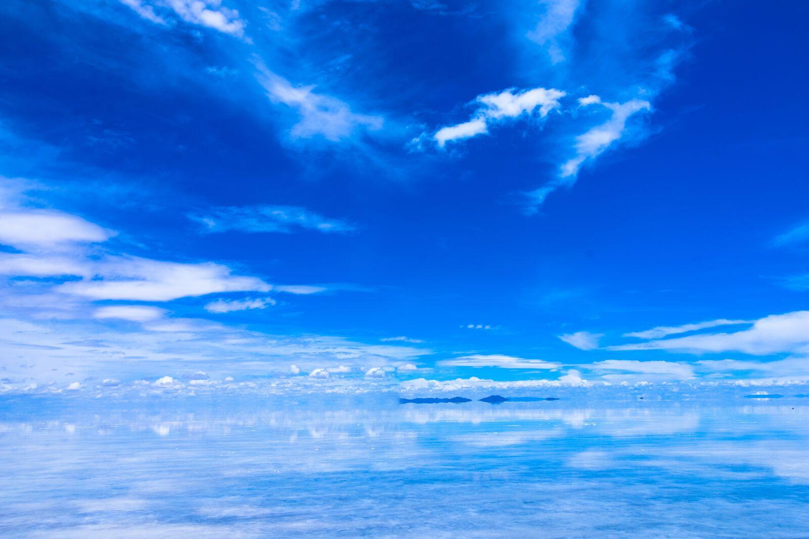 "Canon EOS 70D sample photo. ""Uyuni, desert, salt"" photography"