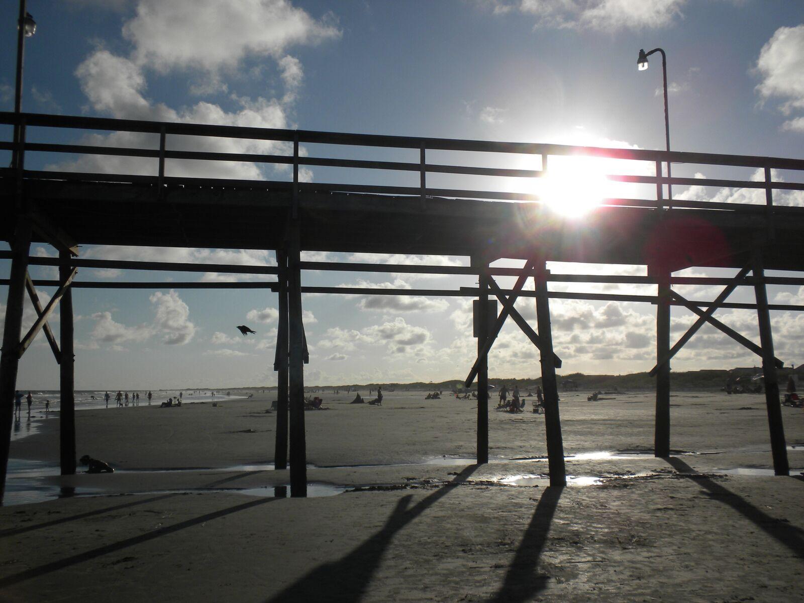 pier, sunlight, landscape