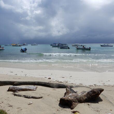 caribbean, sea, boat, Nikon COOLPIX A900