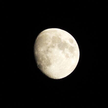 moon, night, sky, Nikon COOLPIX B700