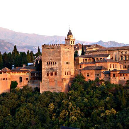 alhambra, granada, spain, Nikon COOLPIX S210