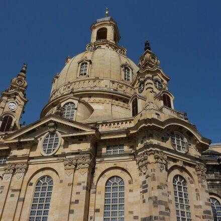 dresden, frauenkirche, saxony, Panasonic DMC-TZ6
