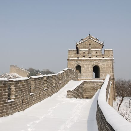 winter, snow, building, Canon EOS 1100D