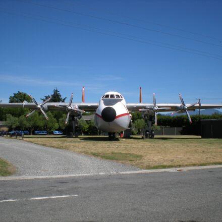 cargo plane, commercial, argosy, Nikon COOLPIX S210