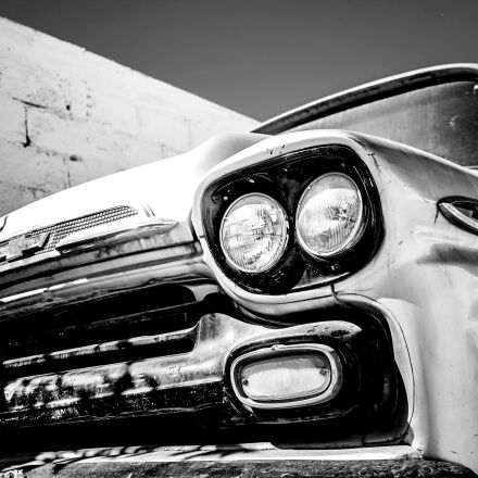 car, old, vintage, Canon EOS REBEL T6S