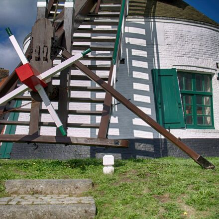 gistel, mill, historic mill, Canon EOS 1100D