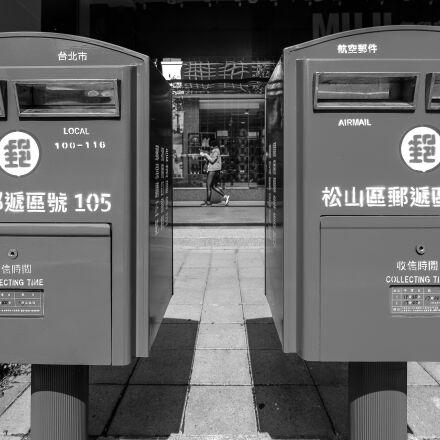 letter, mailbox, post, Fujifilm X-T1