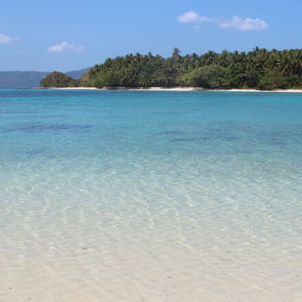 beach, sea, paradise, Canon EOS 600D