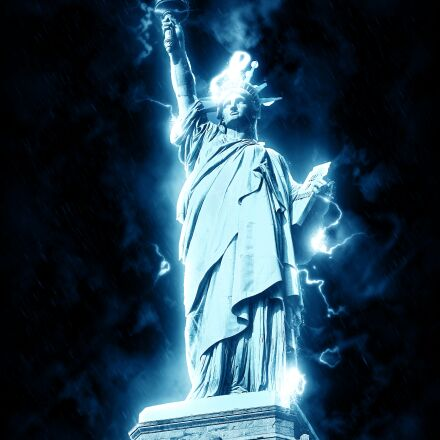 statue of liberty, usa, Canon POWERSHOT A2000 IS