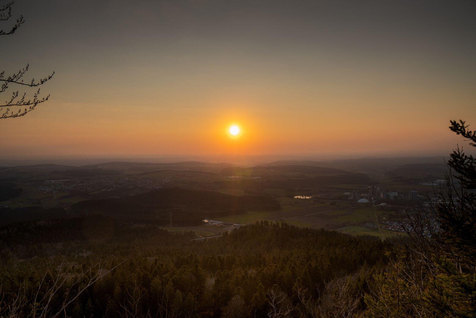 """Sony a6300 sample photo. """"Sun, sunset, landscape"""" photography"""