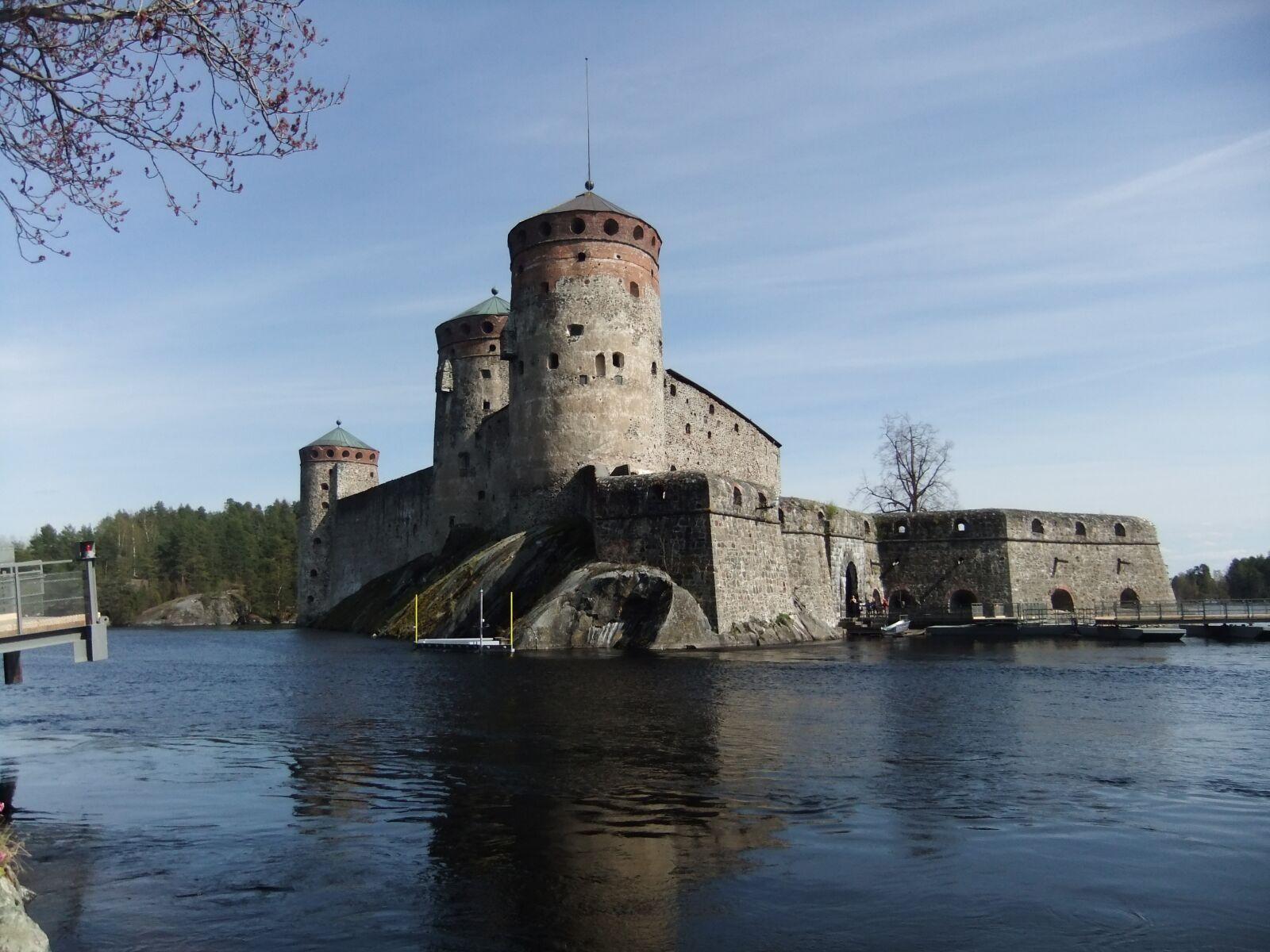 """FujiFilm FinePix JZ500 (FinePix JZ505) sample photo. """"Castle, finland, saariselkä"""" photography"""