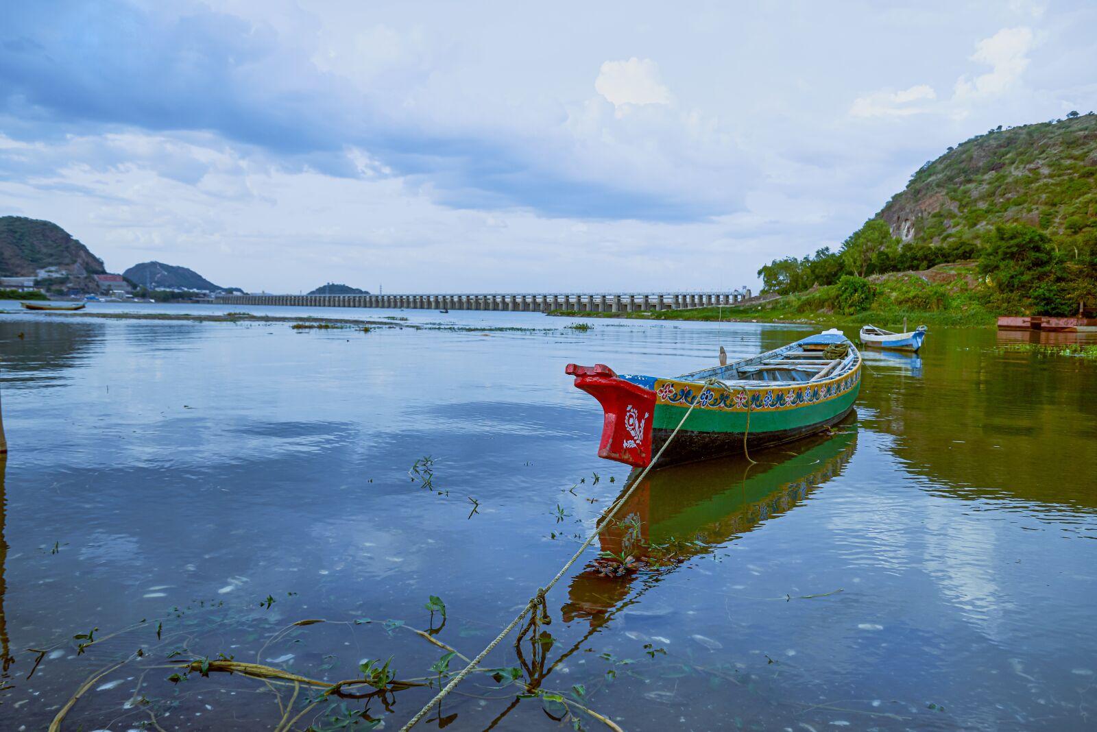 "Nikon D610 sample photo. ""Boat, river, water"" photography"