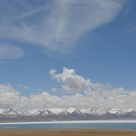 blue, ice, mountain, sky, Nikon D5100
