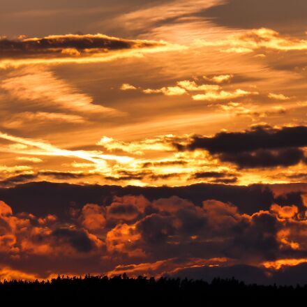 sunset, dawn, panorama, Panasonic DMC-FZ38