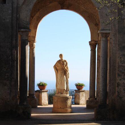 ravello, villa cimbrone, amalfi, Canon EOS 1300D