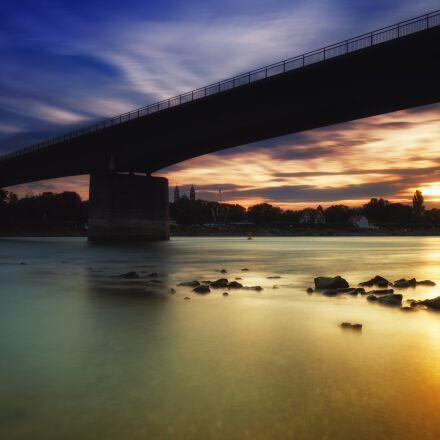 sun, sunset, water, Fujifilm X-T2