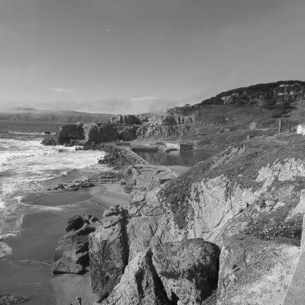 cliffs, san, francisco, Panasonic DMC-ZS3