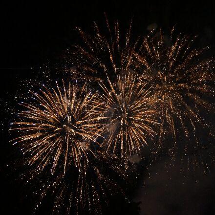 fireworks, dark, light, Sony NEX-6