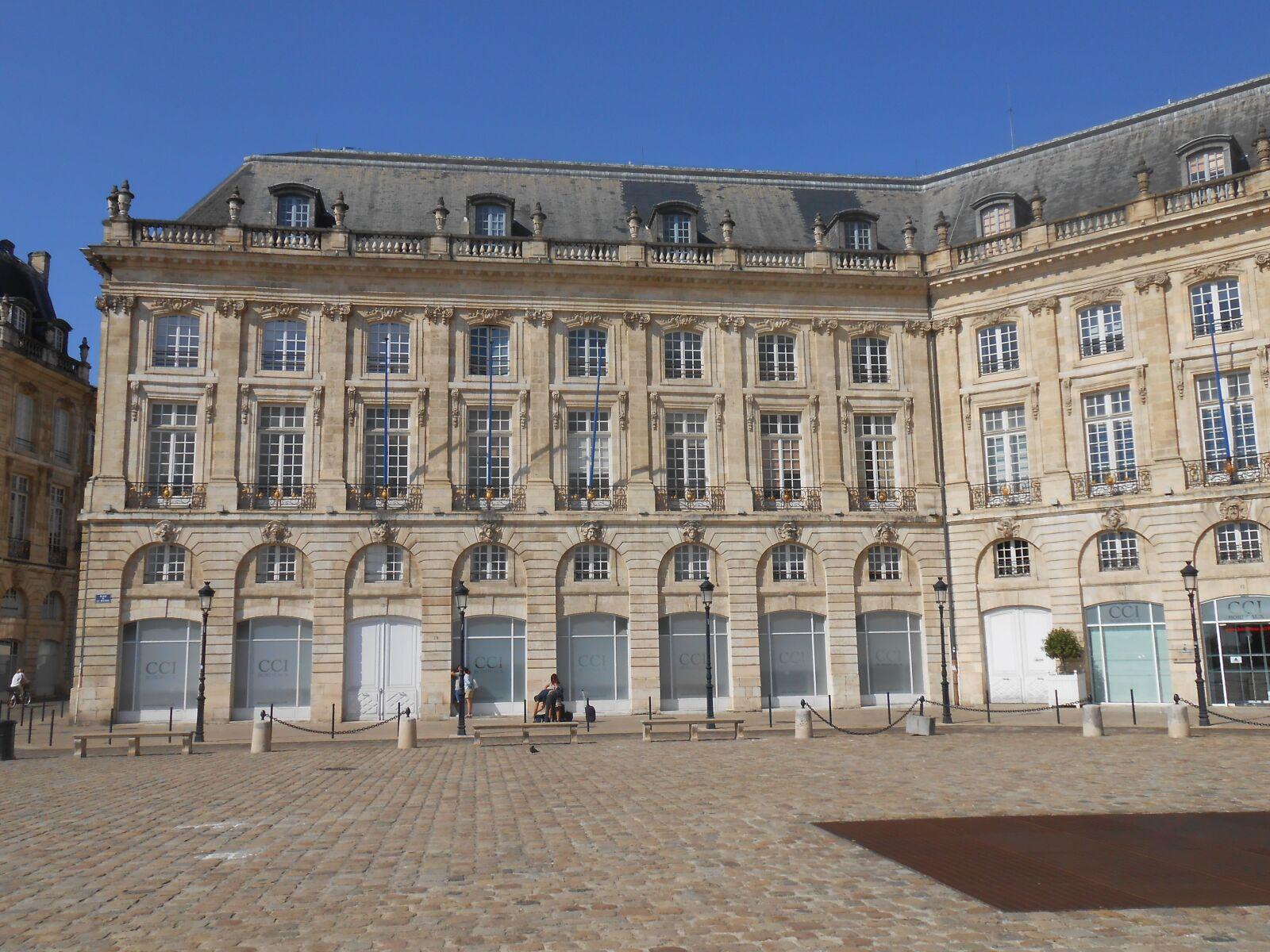 """Nikon Coolpix S4300 sample photo. """"Bordeaux, place de la"""" photography"""