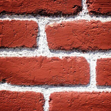 brick, red brick, texture, Canon EOS REBEL T6S