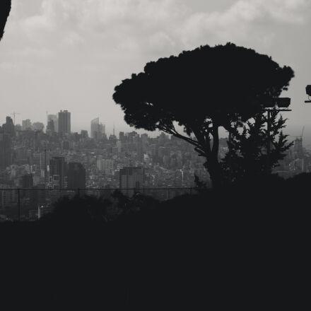 blackandwhite, citybuildings, Canon EOS 700D