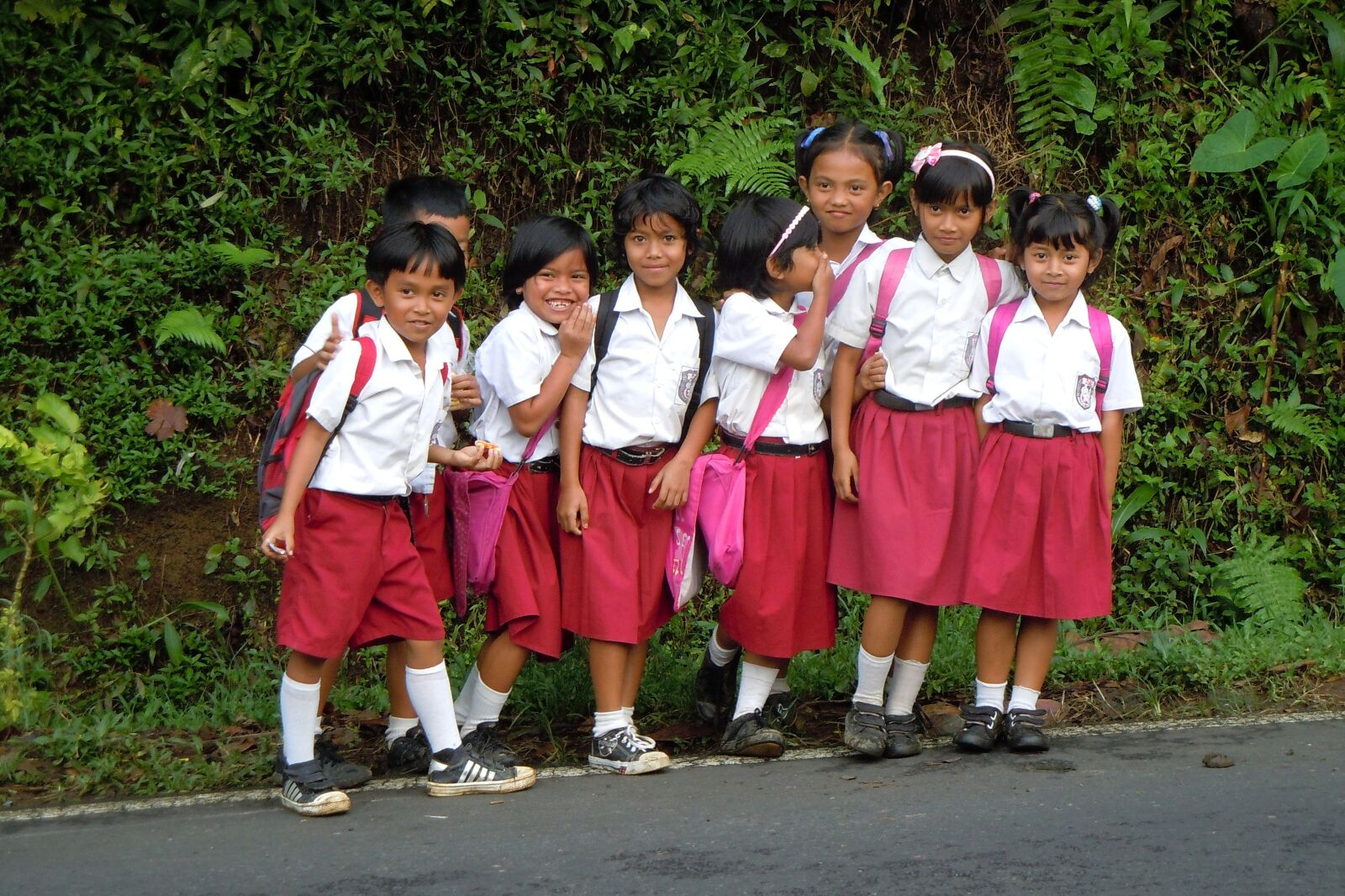 "Nikon Coolpix S8000 sample photo. ""Bali, indonesia, children"" photography"