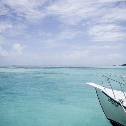 maldives, blue sky, white, Pentax K-X