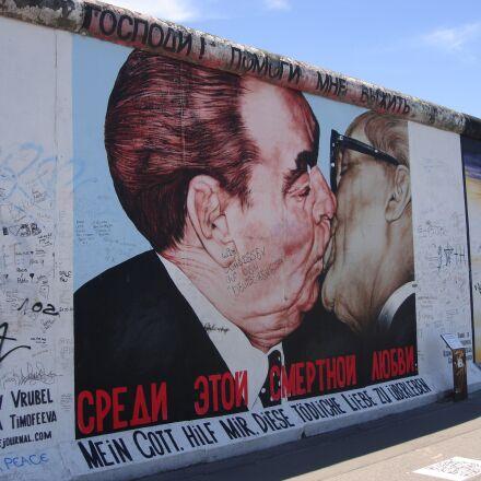 people, the berlin wall, Sony DSC-N1
