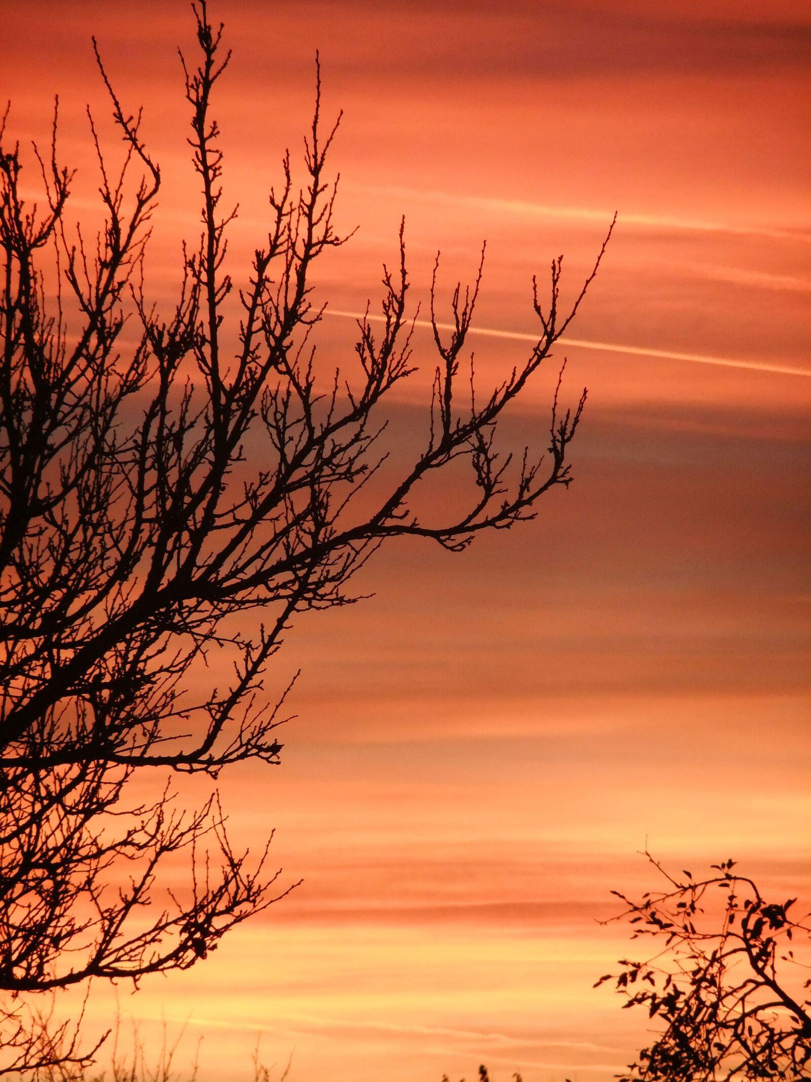 """FujiFilm FinePix JZ500 (FinePix JZ505) sample photo. """"Nature, sky, sunset"""" photography"""