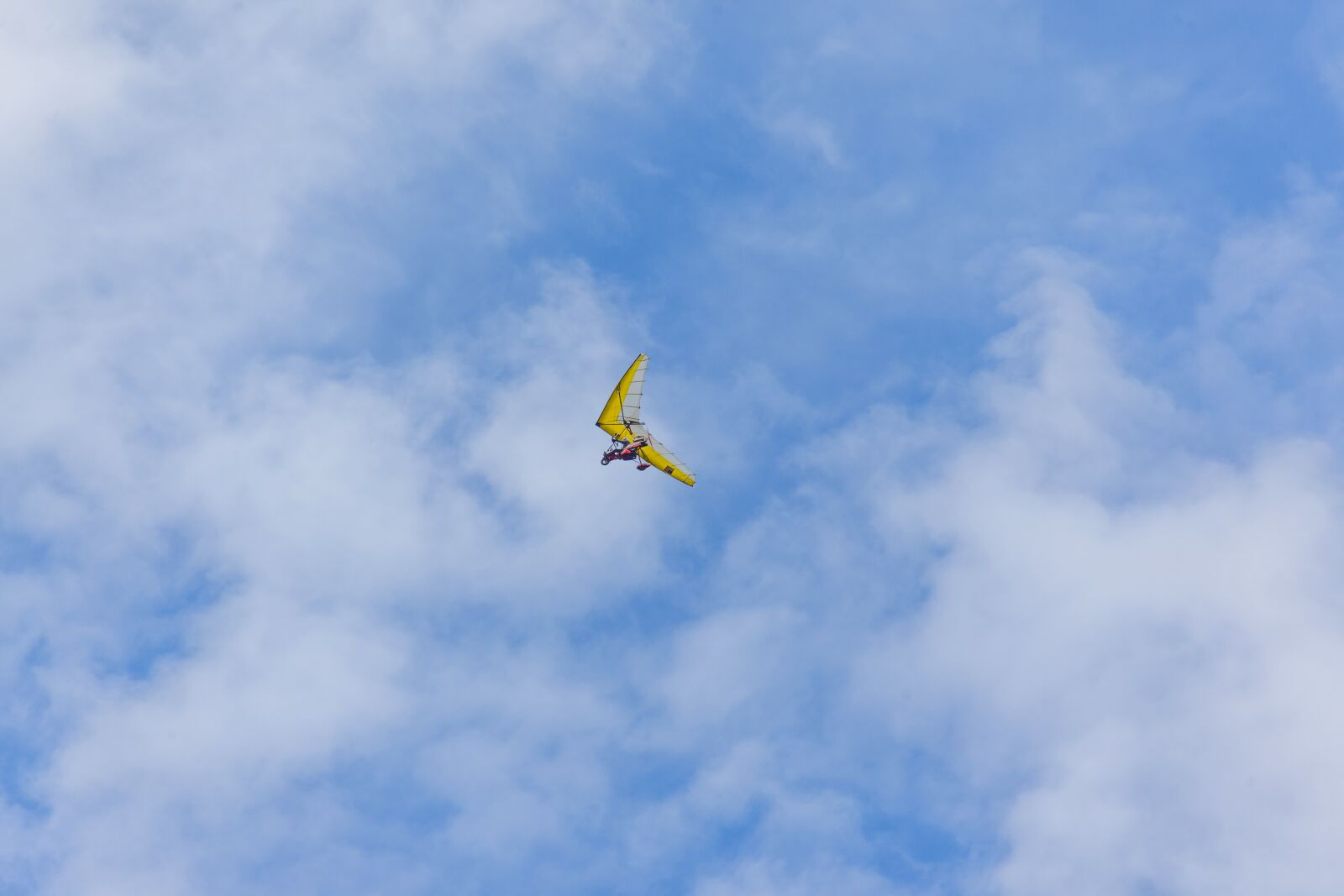glider, flying, motor