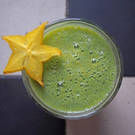 green smoothie, healthy, fresh, Olympus E-PM2