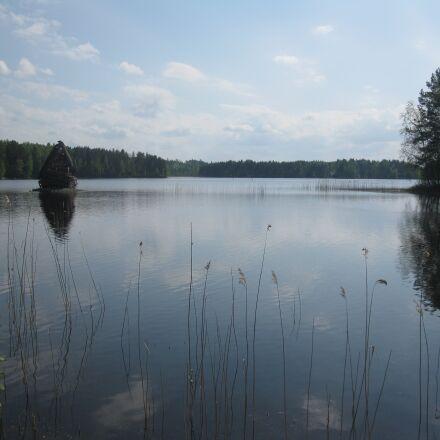 lake, water, panorama, Canon POWERSHOT A2000 IS