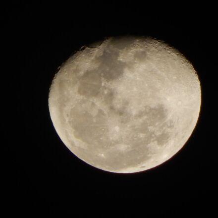 moon, room, crescent, Nikon COOLPIX L830